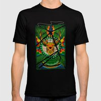 Spirit Of The Forest Mens Fitted Tee Black SMALL