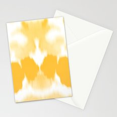 Ink mirror yellow Stationery Cards