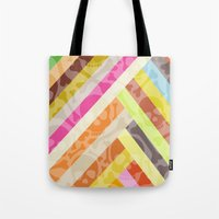 Skull Background Tote Bag
