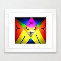 ÁS Framed Art Print