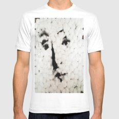 VENUS IN COTTONS Mens Fitted Tee SMALL White