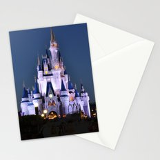 Cinderella's Castle II Stationery Cards