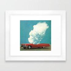 RED CAR 2 (2011) Framed Art Print