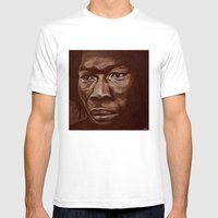 The Roots Part2 Mens Fitted Tee White SMALL