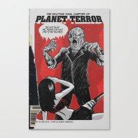 Bargain Bin: Planet Terror Canvas Print