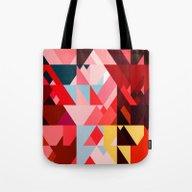 Triangle Color Tote Bag