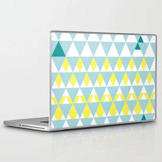 Up on the mountains Laptop & iPad Skin