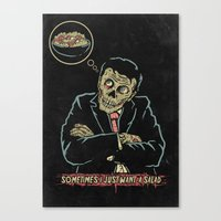 Sometimes I Just Want A … Canvas Print