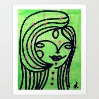 Limonada Art Print