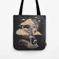 At the Foot of Fox Mountain... Tote Bag
