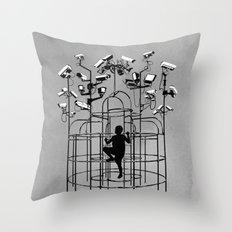 Supervision Throw Pillow