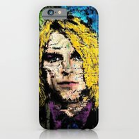 iPhone Cases featuring Nevermind Kurt  by brett66