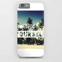 Go Find Yourself iPhone 6 Slim Case