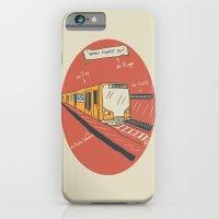iPhone & iPod Case featuring U-BAHN  by LostInMyMind