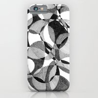 iPhone Cases featuring Doodle by DeMoose_Art