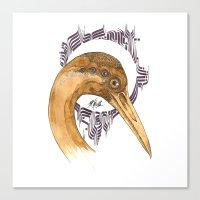 SAINT AIRONE  Canvas Print