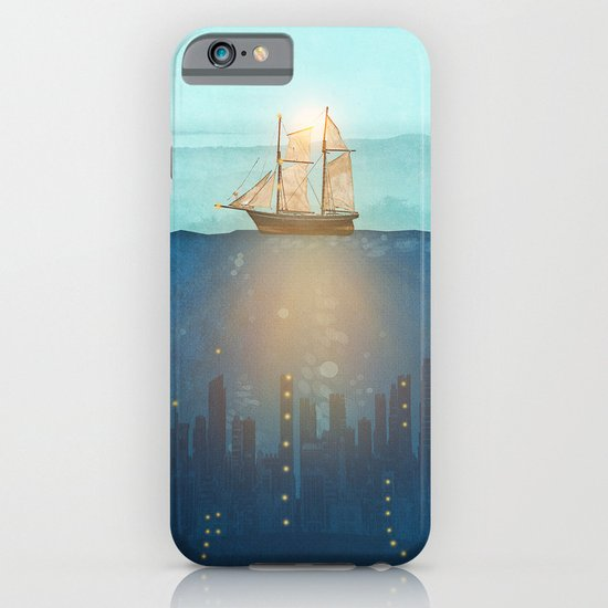 The Underwater City iPhone & iPod Case