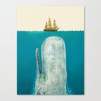 The Whale  Canvas Print