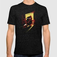 Psychoduck Mens Fitted Tee Tri-Black SMALL
