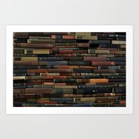 Books on Books Art Print