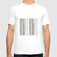 Down Under Mens Fitted Tee White SMALL