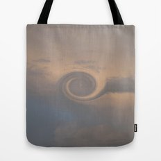 Cloud Swirl Tote Bag