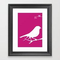 18_birdstfb_I Framed Art Print