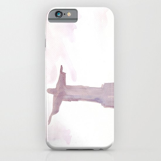 Watercolor landscape illustration_Rio iPhone & iPod Case