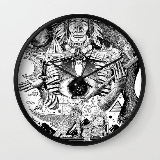 Dream Pipe Wall Clock
