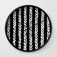 Knit 8 Wall Clock