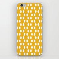 Aelbrecht Yellow Pattern iPhone & iPod Skin