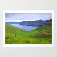 faroe islands Art Print