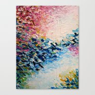 PARADISE DREAMING Colorf… Canvas Print