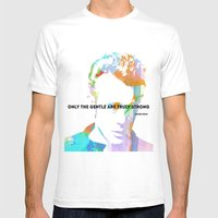 James Dean Quote Mens Fitted Tee White SMALL
