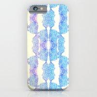 iPhone & iPod Case featuring Geometric Swirls by Mary Bowen