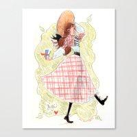 Gigi! Canvas Print