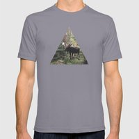 The Modest Moose Mens Fitted Tee Slate SMALL
