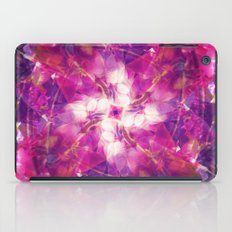 Pink Floral Mandala iPad Case
