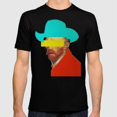 I wanna be a cowboy 3 SMALL Black Mens Fitted Tee