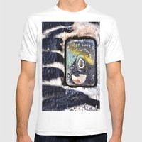 Locked Mens Fitted Tee White SMALL