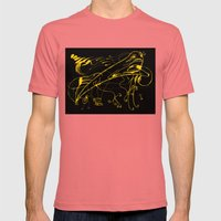 Grito Mens Fitted Tee Pomegranate SMALL