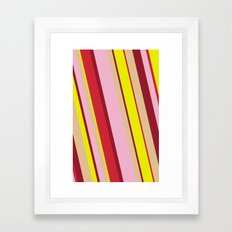happy tones Framed Art Print
