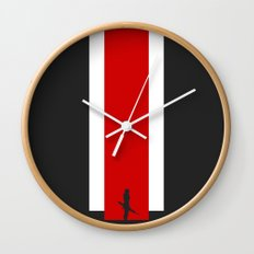 The Effect (FemShep - Clean) Wall Clock