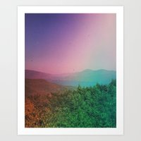 Prospect Mountain Art Print