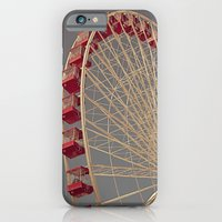 iPhone & iPod Case featuring Chicago Wheel by KarenC