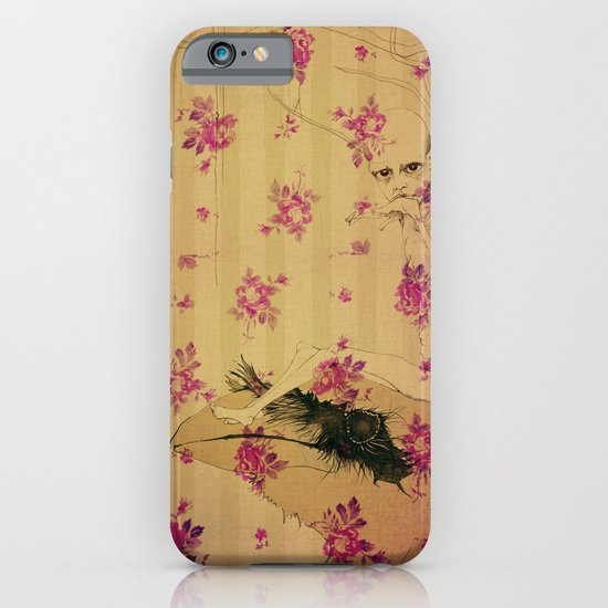 through forest boy mounted on your bird iPhone & iPod Case