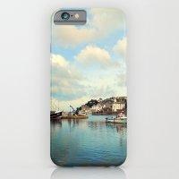 Brixham harbor 3 iPhone 6 Slim Case