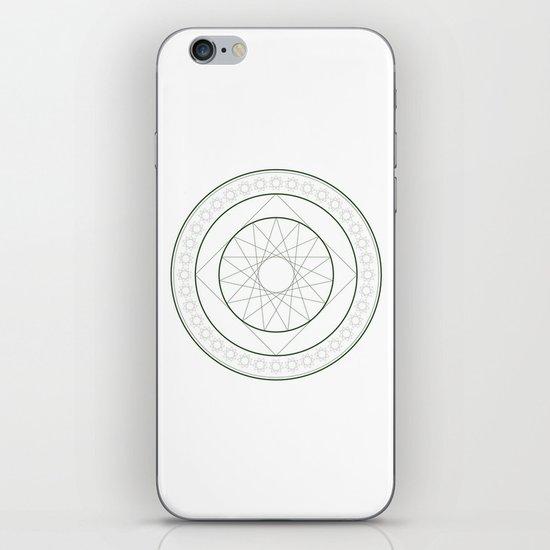 Anime Magic Circle 4 iPhone & iPod Skin