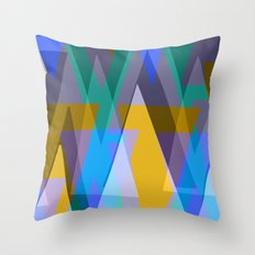 Icicles. Throw Pillow