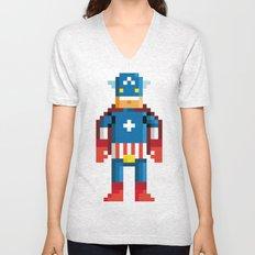 Pixelman America Unisex V-Neck